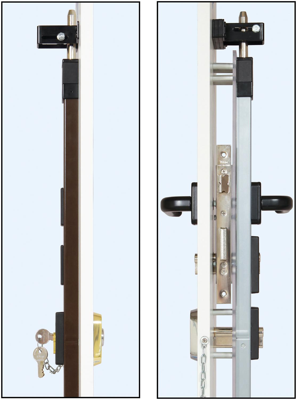 Espositori con spranga universale serrature da applicare for Spranga universale viro