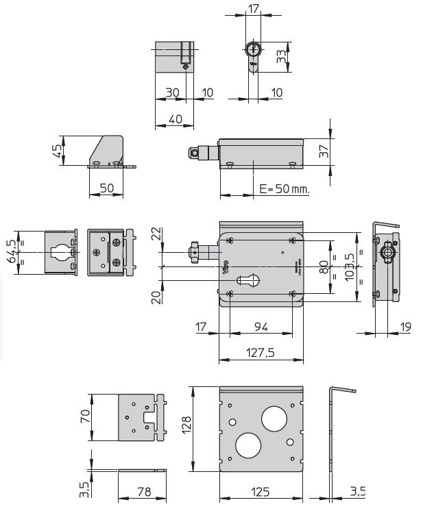 Schema Elettrico Cancello A Due Ante.Elettroserratura Per Cancello V09 Viro