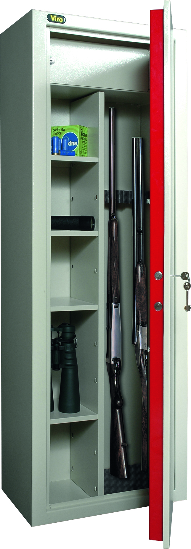 VIRO - With double bit keys - modular gun and valuables cabinet