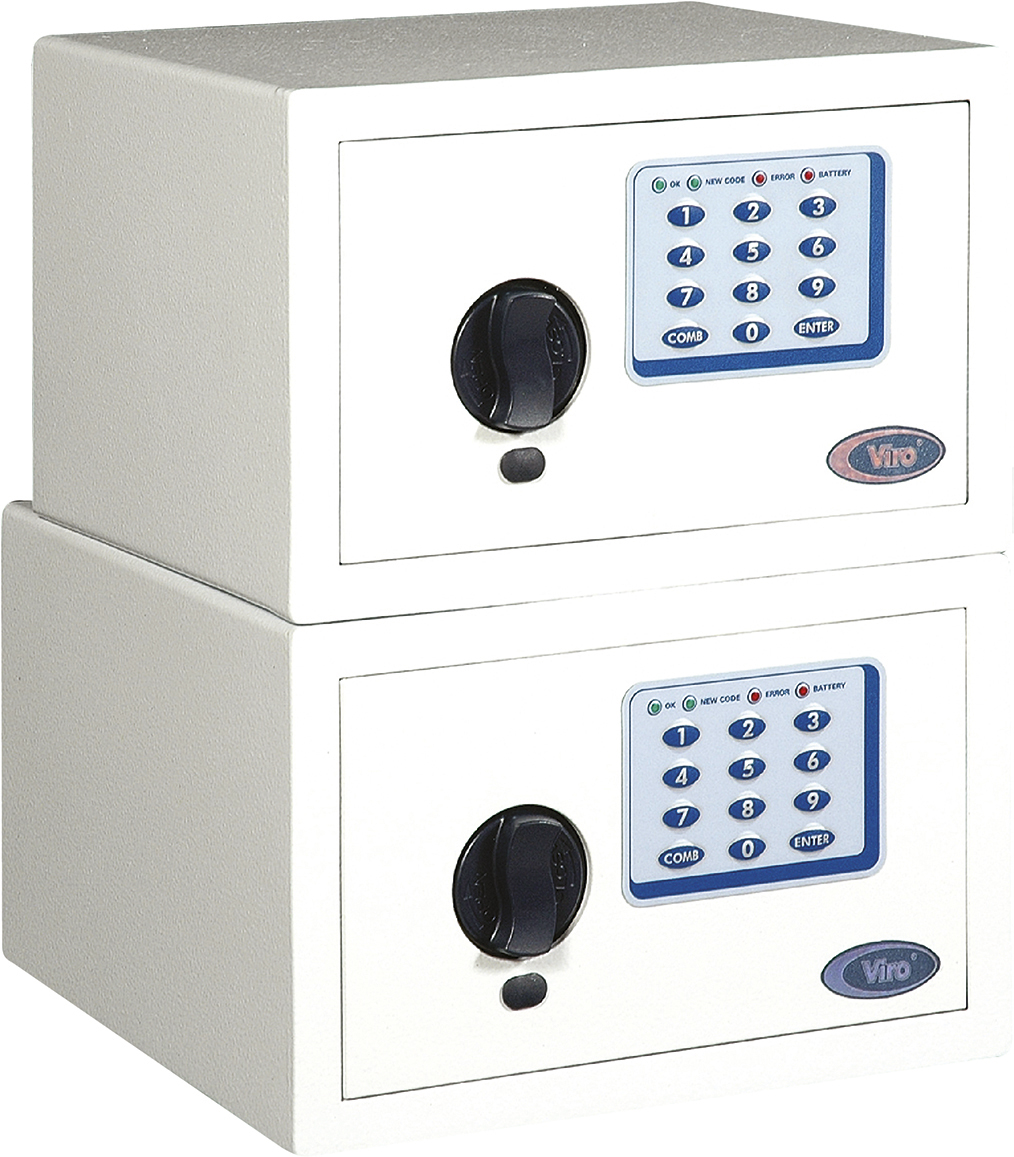 VIRO - Electronic safes with LEDs items 4811 - 4821