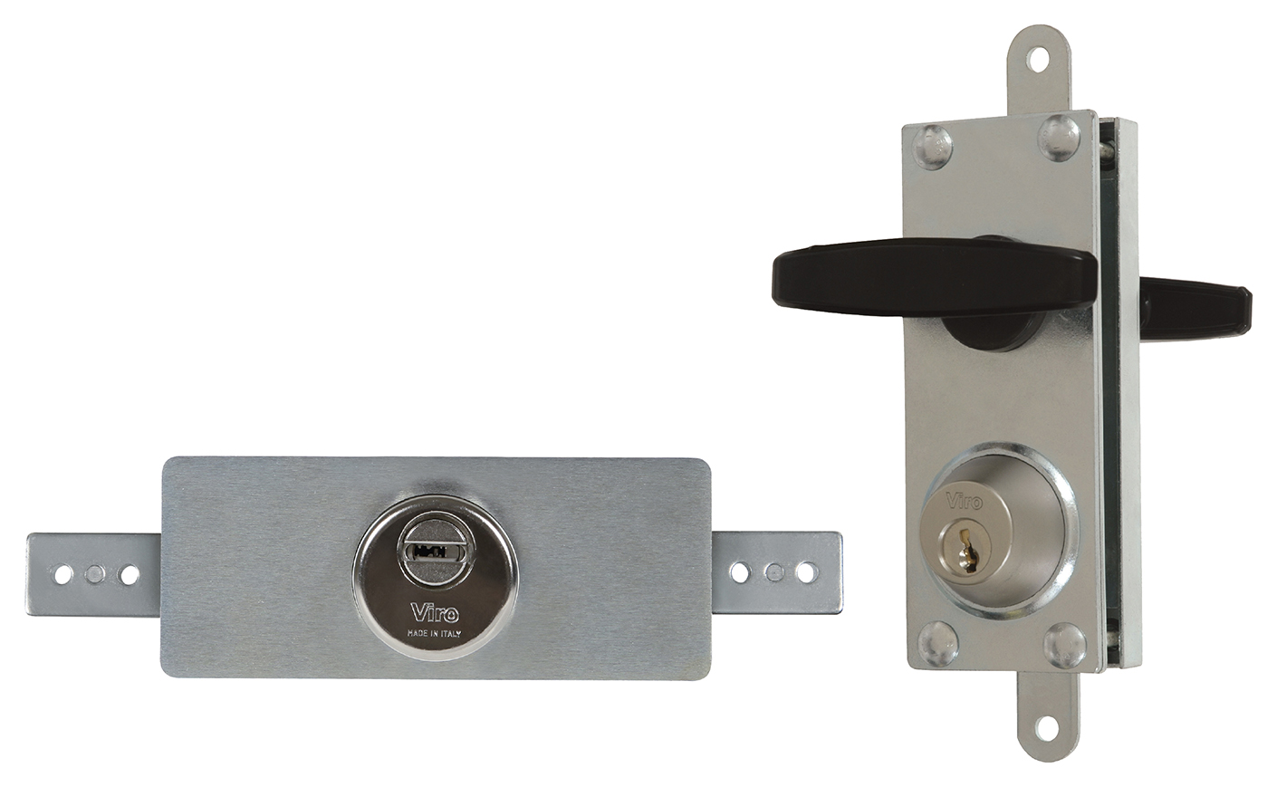 Roller shutter and up and over door locks