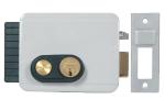 Neues Elektroschloss V97 zur Öffnung nach außen mit Türöffnerknopf