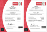 Renewed the Quality System Certification