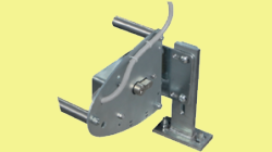 Electric locks and accessories for motorized up and over doors